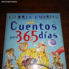 Libros de segunda mano: CUENTOS PARA 365 DIAS: ANTOLOGIA .GLORIA FUERTES .SUSAETA.. Lote 114250195