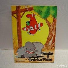 Libros de segunda mano: DUMBO Y PEDRITO PLANO - DISNEY - COLECCIÓN MOVILIBRO INTEREDICIONES 1980. Lote 114494551