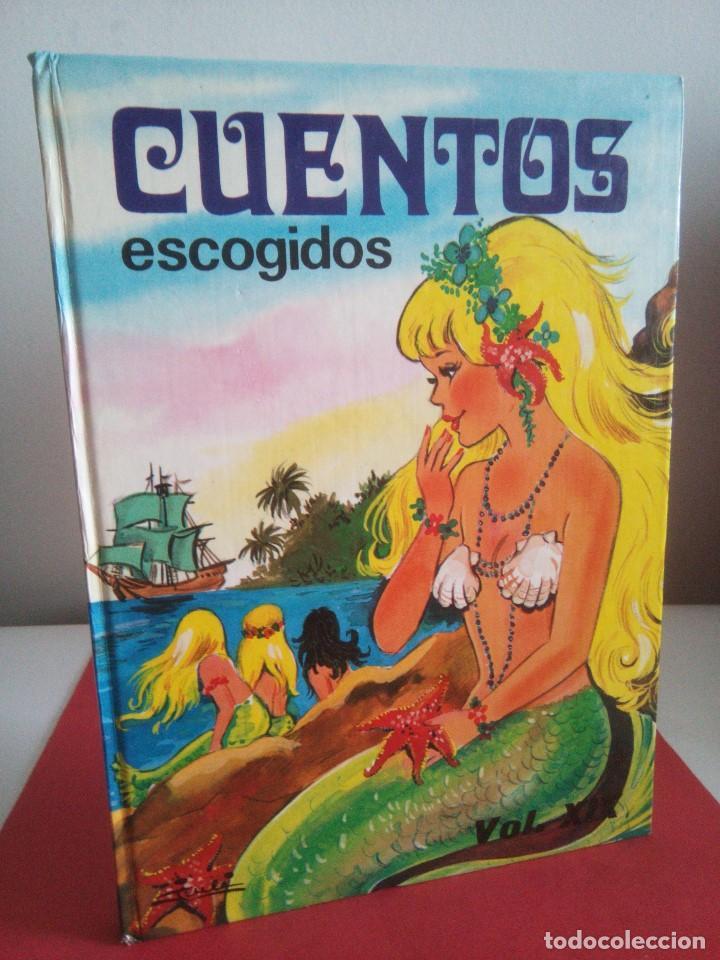 CUENTOS ESCOGIDOS - VOL. XIX - SUSAETA - (Libros de Segunda Mano - Literatura Infantil y Juvenil - Cuentos)