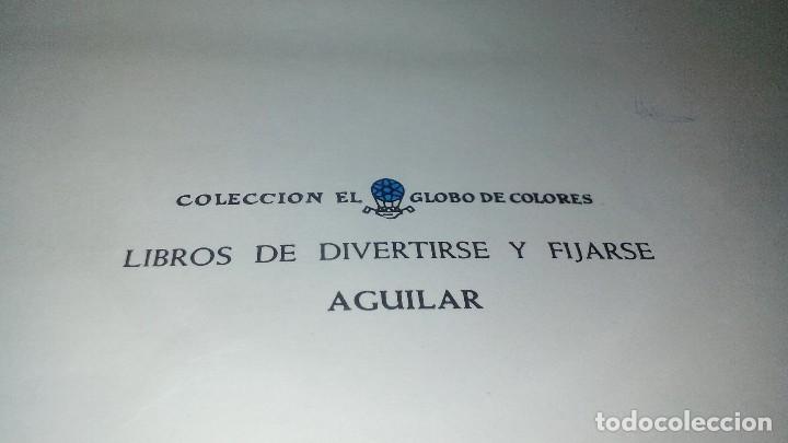 Libros de segunda mano: DIAS SIN COLEGIO-coleccion globo colores. aguilar - Foto 7 - 114578879