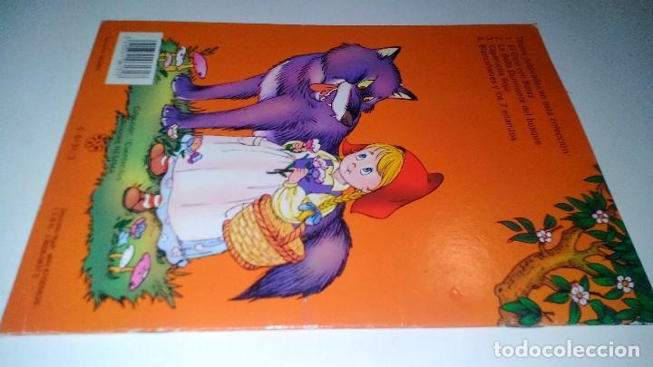 Libros de segunda mano: CAPERUCITA ROJA-COLECCION CUENTECITOS-EDICIONES HEMMA - Foto 2 - 114583451