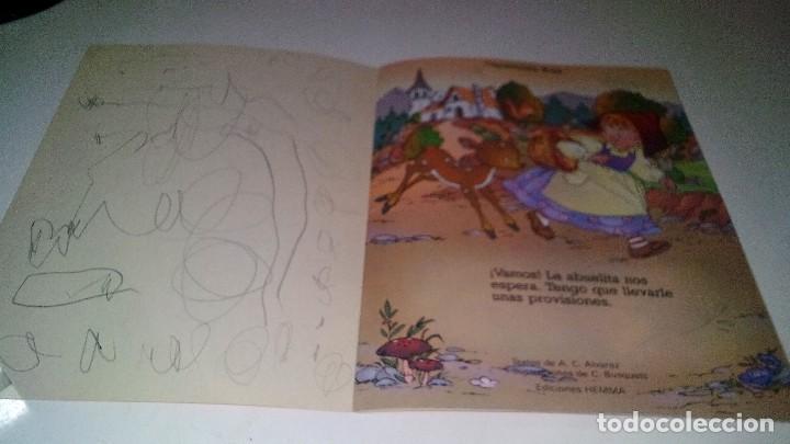 Libros de segunda mano: CAPERUCITA ROJA-COLECCION CUENTECITOS-EDICIONES HEMMA - Foto 5 - 114583451