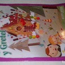Libros de segunda mano: HANSEL Y GRETEL-LOS MEJORES CUENTOS DE SIEMPRE 10-HERMANOS GRIMM-ILUSTRADO CRISTIAN TURDERA-SOL 2010. Lote 114837347