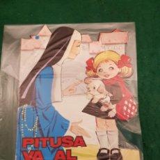 Libros de segunda mano: PITUSA VA AL COLEGIO - TROQUELADO. Lote 114883607