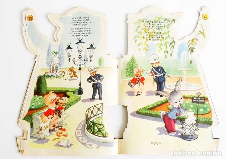 Libros de segunda mano: LOTE 2 CUENTOS TROQUELADOS 1953-59. - Foto 13 - 114891199
