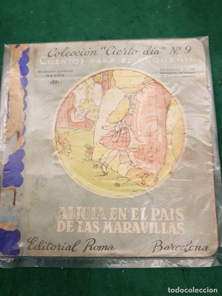 ALICIA EN EL PAIS DE LAS MARAVILLAS - EDITORIAL ROMA (Libros de Segunda Mano - Literatura Infantil y Juvenil - Cuentos)