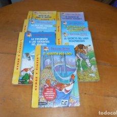 Libros de segunda mano: LOTE DE 7 LIBROS DE GERONIMO STILTON - VER FOTOS. Lote 114929039