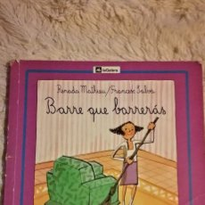 Libros de segunda mano: BARRE QUE BARRERÁS - RENADA MATHIEU Y FRANCESC SALVÁ. Lote 115191271