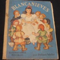 Libros de segunda mano: BLANCANIEVES, CON ILUSTRACIONES MOVIBLES, POR JULIAN WEHR. Lote 115420007