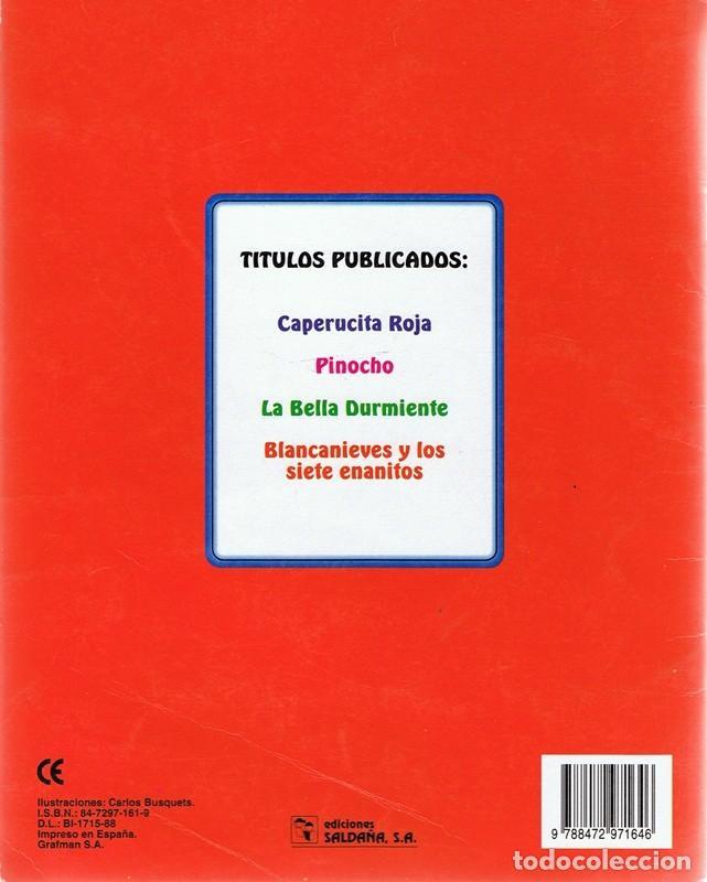 Libros de segunda mano: CUENTO CAPERUCITA ROJA - Foto 2 - 115447179