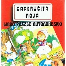 Libros de segunda mano: CAPERUCITA ROJA LIBRO PUZZLE AUTOADHESIVO . Lote 115449819