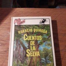 Libros de segunda mano: CUENTOS DE LA SELVA. POR HORACIO QUIROGA. ED. ANAYA 1A EDICIÓN 1981. Lote 115630310