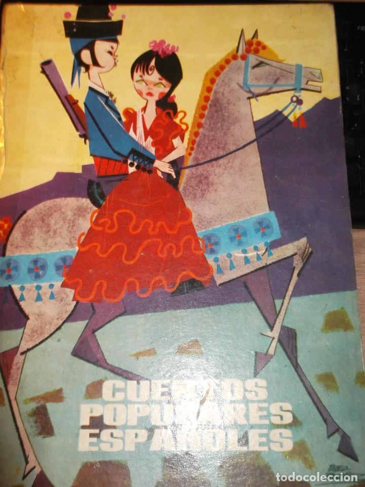 CUENTOS POPULARES ESPAÑOLES, EDITORIAL MOLINO, AÑO 1962.DIBUJOS DE PABLO RAMIREZ. (Libros de Segunda Mano - Literatura Infantil y Juvenil - Cuentos)