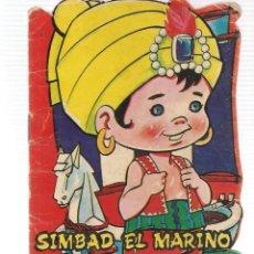 Libros de segunda mano: CUENTOS TROQUELADOS VILMAR. SIMBAD EL MARINO. (VI/C1). Lote 115732191