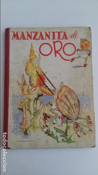 CUENTO INFANTIL MANZANITA DE ORO. EDIC HYMSA. (Libros de Segunda Mano - Literatura Infantil y Juvenil - Cuentos)