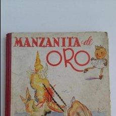 Libros de segunda mano: CUENTO INFANTIL MANZANITA DE ORO. EDIC HYMSA. . Lote 115774227