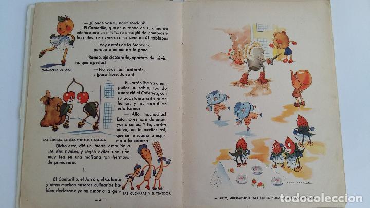 Libros de segunda mano: CUENTO INFANTIL MANZANITA DE ORO. EDIC HYMSA. - Foto 3 - 115774227