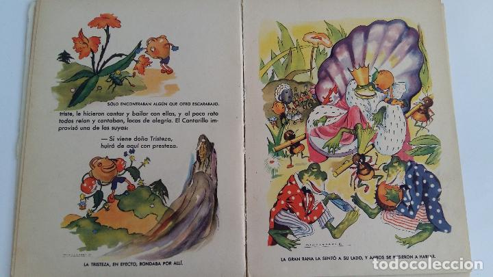 Libros de segunda mano: CUENTO INFANTIL MANZANITA DE ORO. EDIC HYMSA. - Foto 4 - 115774227