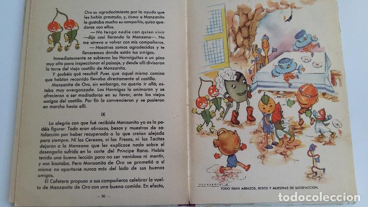 Libros de segunda mano: CUENTO INFANTIL MANZANITA DE ORO. EDIC HYMSA. - Foto 5 - 115774227
