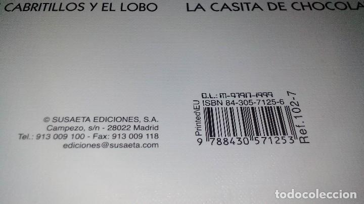 Libros de segunda mano: CAPERUCITA ROJA-COLECCIÓN ARLEQUIN-SUSAETA EDICIONES - Foto 3 - 116389847