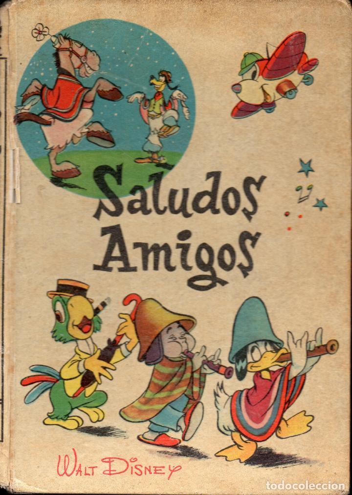 WALT DISNEY : SALUDOS AMIGOS (VILCAR, S.F.) (Libros de Segunda Mano - Literatura Infantil y Juvenil - Cuentos)