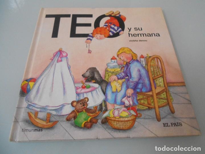 TEO Y SU HERMANA (Libros de Segunda Mano - Literatura Infantil y Juvenil - Cuentos)