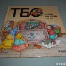 Libros de segunda mano: TEO JUEGA EN CASA . Lote 118434072