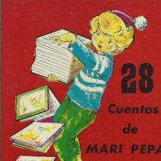 Libros de segunda mano: EMILIA COTARELO Y MARIA CLARET - 28 CUENTOS DE MARI PEPA - PRIMERA SERIE - AEDOS AÑOS 50. Lote 135931874