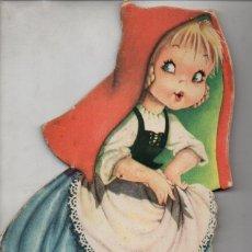 Libros de segunda mano: FERRANDIZ : CAPERUCITA ROJA (VILCAR, 1957) TROQUELADO. Lote 116617935