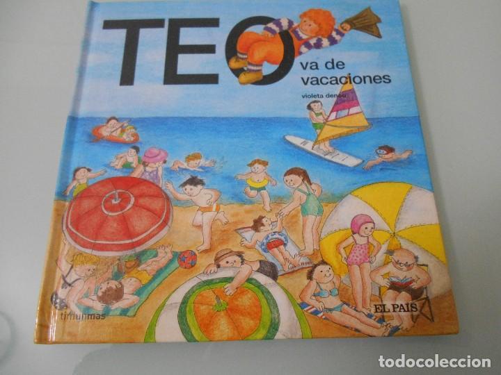 TEO VA DE VACACIONES (Libros de Segunda Mano - Literatura Infantil y Juvenil - Cuentos)