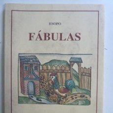 Libros de segunda mano: FÁBULAS. ESOPO. CARMEN BRAVO. Lote 117096871