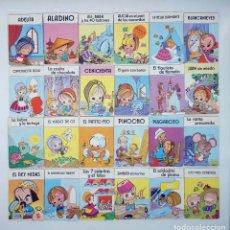Libros de segunda mano: CUENTOS MINI CHIP COMPLETA 24 NÚMEROS (VVAA) EDITORIAL ROMA, 1988. OFRT. Lote 206598743