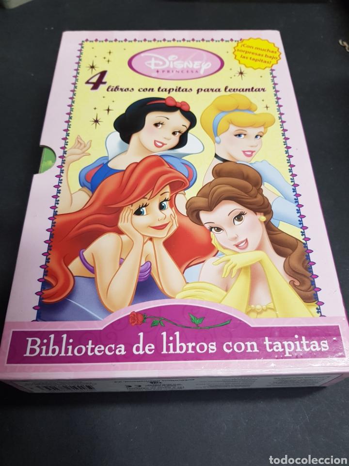 BIBLIOTECA DE LIBROS CON TAPITAS - 4 CUENTOS - TDK151 (Libros de Segunda Mano - Literatura Infantil y Juvenil - Cuentos)