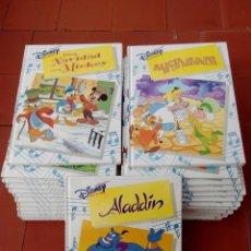 Libros de segunda mano: AUDIOCUENTOS DISNEY 27 CUENTOS - FOTOS DE TODOS -. Lote 117217259