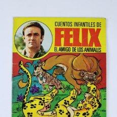 Libros de segunda mano: CU-86. EL LEOPARDO Y EL LEON. CUENTOS INFANTILES DE FELIX .EDIT. BRUGUERA . AÑO 1970. Lote 117279727