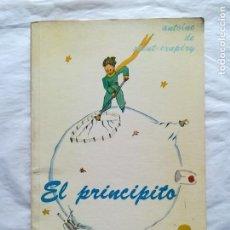 Libros de segunda mano: EL PRINCIPITO, 1977. SOLO 5000 EJEMPLARES. ANTOINE DE SAINT EXUPERY. MÉXICO.. Lote 117281807