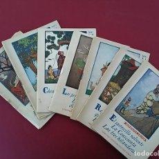 Libros de segunda mano: LOTE DE 7 ANTIGUOS CUENTOS. EDITORIAL JUVENTUD.. Lote 117636727
