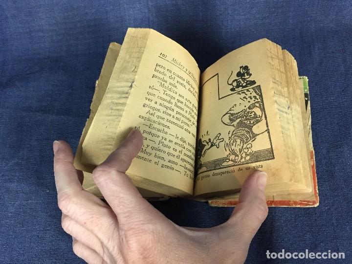 Libros de segunda mano: ratón mickey y la lámpara maravillosa con dibujos animados de pluto walt disney 1948 - Foto 3 - 117709363