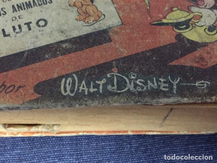 Libros de segunda mano: ratón mickey y la lámpara maravillosa con dibujos animados de pluto walt disney 1948 - Foto 7 - 117709363