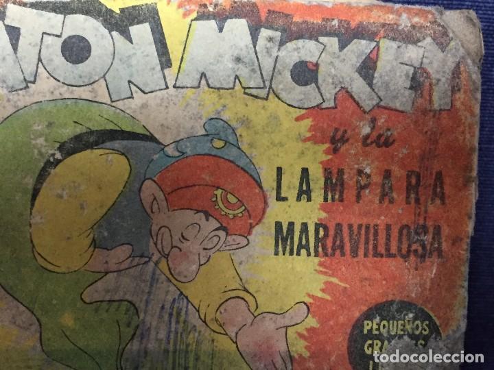 Libros de segunda mano: ratón mickey y la lámpara maravillosa con dibujos animados de pluto walt disney 1948 - Foto 9 - 117709363