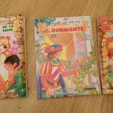 Libros de segunda mano: CUENTOS DE AYER PARA HOY-EL LIBRO DE LA SELVA-LA BELLA DURMIENTE-EL PATITO FEO-SUSAETA 1987. Lote 117771551