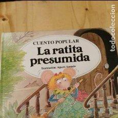 Libros de segunda mano: COLECCION CUENTOS CLASICOS - LA RATITA PRESUMIDA . Lote 117780979