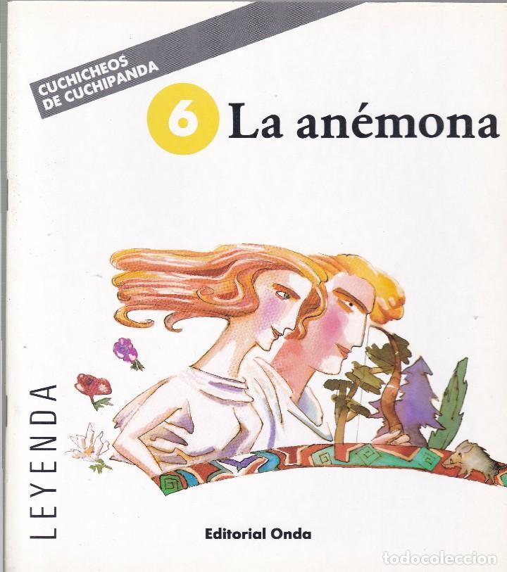 LA ANÉMONA - CUCHICHEOS DE CUCHIPANDA - EDITORIAL ONDA 1989 / ILUSTRADO (Libros de Segunda Mano - Literatura Infantil y Juvenil - Cuentos)