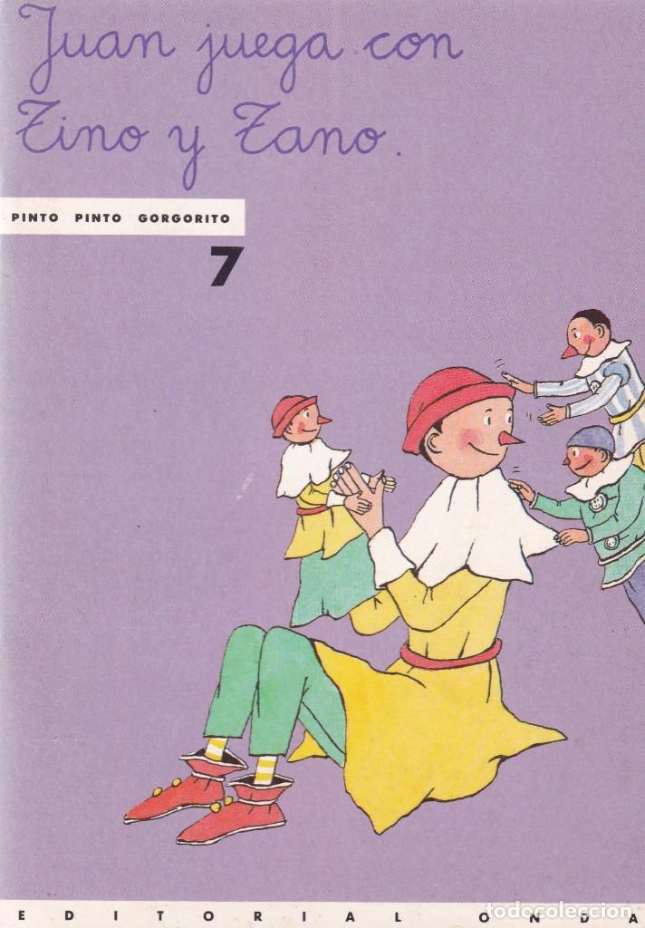 JUAN JUEGA CON TINO Y ZANO - EDITORIAL ONDA 1988 (Libros de Segunda Mano - Literatura Infantil y Juvenil - Cuentos)