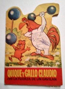 QUIQUE Y GALLO CLAUDIO TROQUELADOS BUGS BUNNY 24 - TROQUELADO - CUENTOS