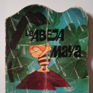 LA ABEJA MAYA Nº3 LA TORMENTA - EDITORIAL BRUGUERA - CUENTOS TROQUELADOS