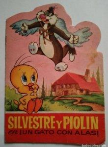 SILVESTRE Y PIOLIN - 1965 - TROQUELADOS BUGS BUNNY Nº 23 - EDITORIAL BRUGUERA - CUENTOS TROQUELADOS