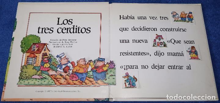 Libros de segunda mano: Los tres cerditos - Libro POP-UP - John Wallner - Montena - Foto 2 - 173716347