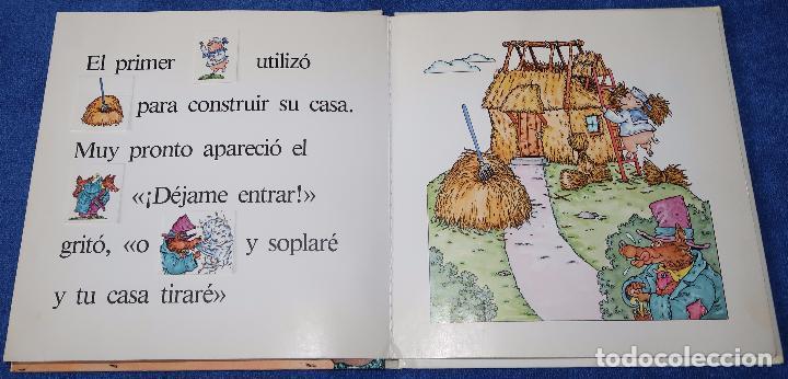 Libros de segunda mano: Los tres cerditos - Libro POP-UP - John Wallner - Montena - Foto 3 - 173716347