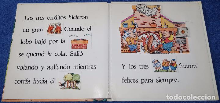 Libros de segunda mano: Los tres cerditos - Libro POP-UP - John Wallner - Montena - Foto 4 - 173716347